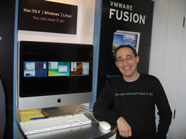 Ben Gertzfield at Macworld 2008